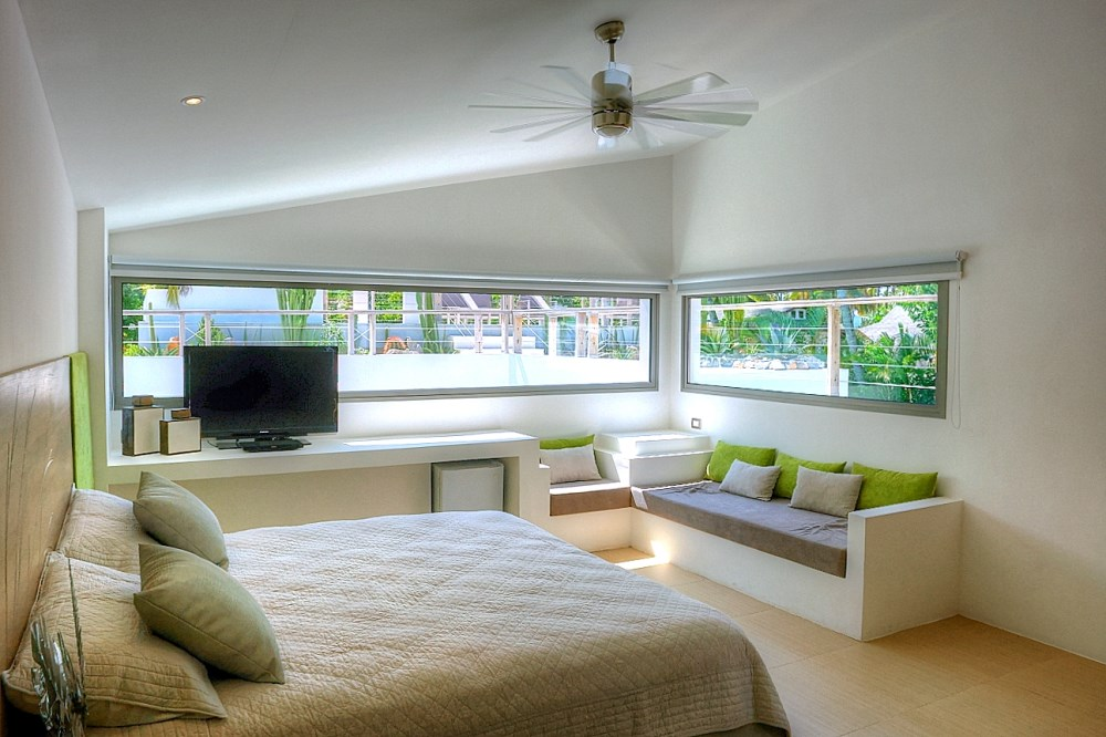 Villa Sofia – Floorplans – The Superior Suite – Bed/Living Area