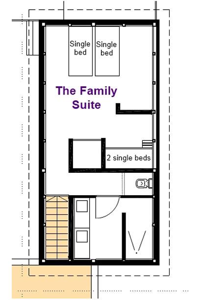 Villa Sofia – Floorplans – Family Suite Floorplan