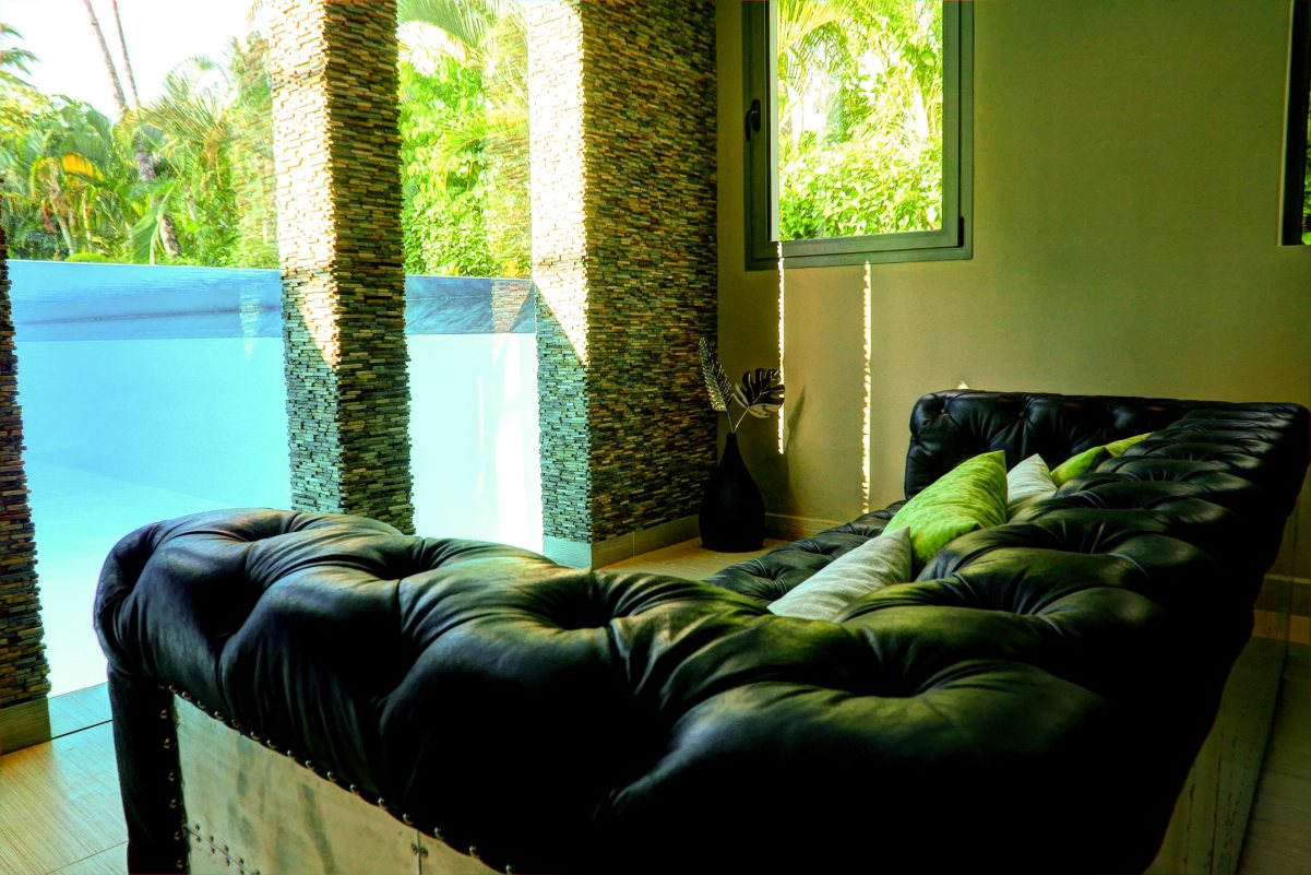 Villa Sofia – The Pool Suite – Living Space