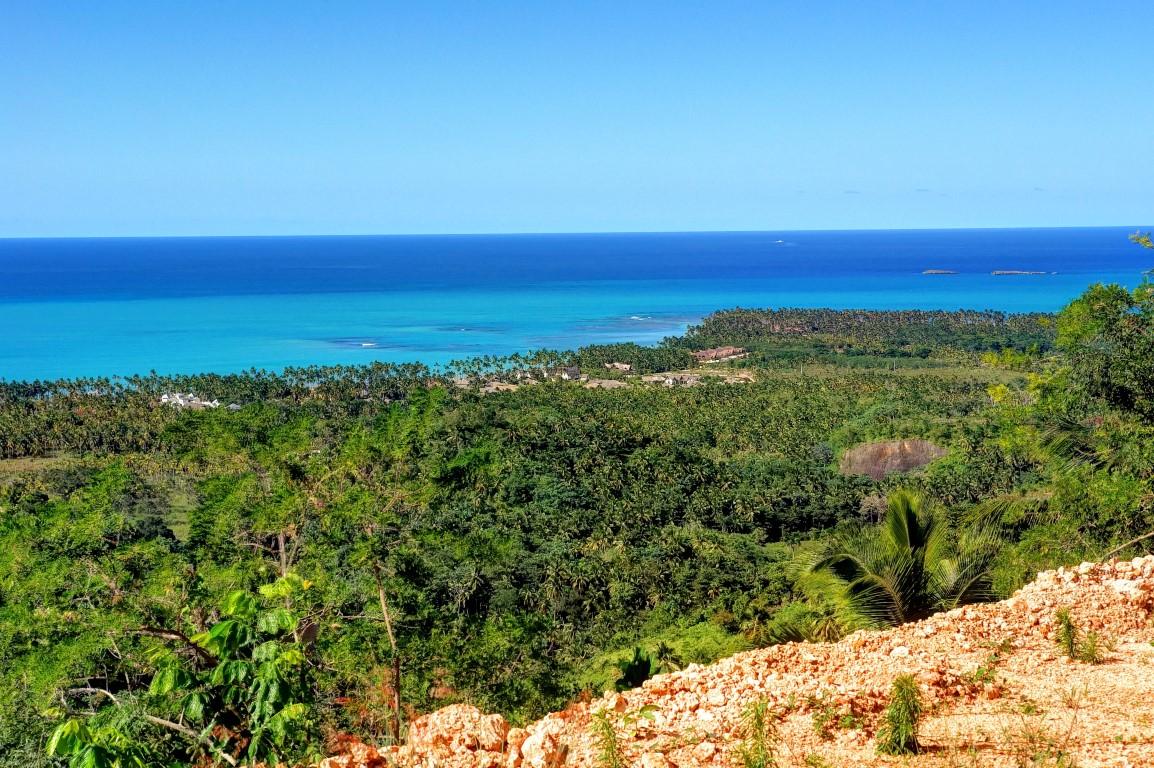 Punta Bonita from the Coson Hills