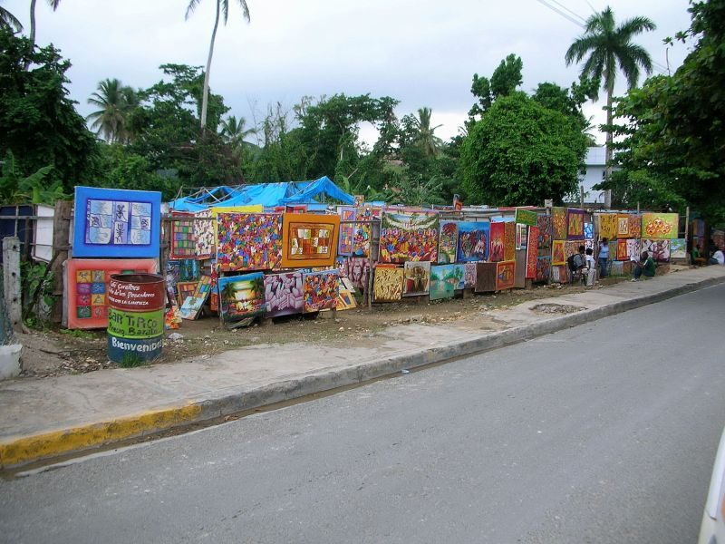 Las Terrenas Views – Local Street